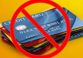 Как не надо пользоваться кредитными картами